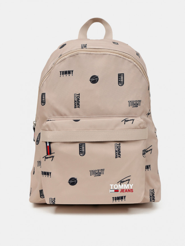 Tommy Hilfiger Campus Dome Backpack Print Batoh Hnedá