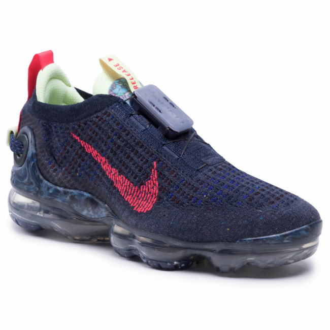 Topánky NIKE - Air Vapormax 2020 Fk CW1765 400 Obsidian/Siren Red/Barely Volt
