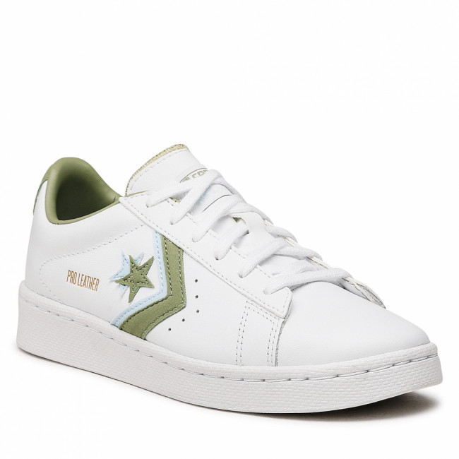 Sneakersy CONVERSE - Pro Leather Ox 167854C  White/Street Sage/Agate Blue