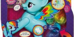 Hasbro My Little Pony skákající rainbow dash
