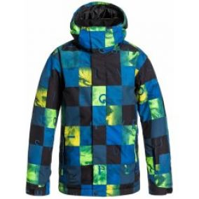 Quiksilver Mission Printed Youth BQZ2 Check Kasper