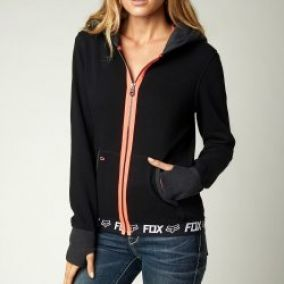 Fox Racing Race Zip Hdy Black