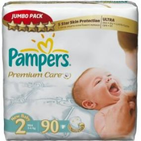 PAMPERS Plienky Pampers PremiumCare Jumbo pack 2