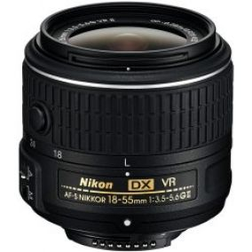 Nikon 18-55mm f/3,5–5,6G DX VR II