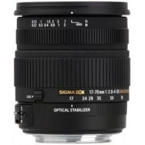 Sigma 17-70mm f/2,8-4 DC Makro OS HSM Canon
