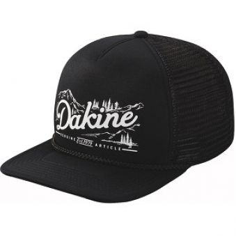 Dakine Šiltovka Mountain Trucker Black 8640239