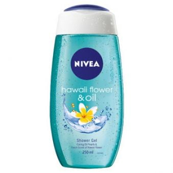 Nivea Sprchový gél Hawaiian Flower & Oil 250 ml
