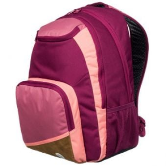 Roxy Batoh Shadow Swell Colorblock 24L Red Plum