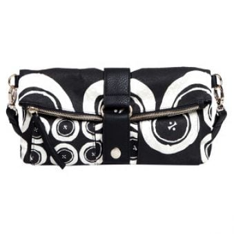 Desigual Crossbody kabelka Clutch Black and White