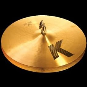 "Zildjian 16"" K light hi hat"