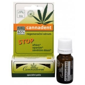 Cannaderm Sérum proti oparom Cannadent STOP 5 ml