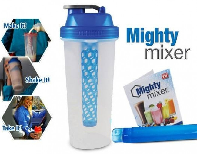 Mighty mixer-fľaša na citronádu, koktejly...