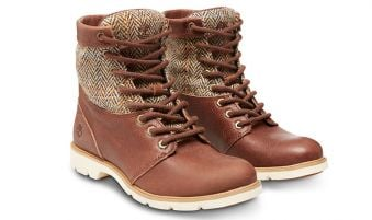 Timberland Bramhill Fabric and Leather 6-Inch W