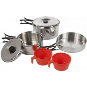 Regatta Compact Steel Cook Set