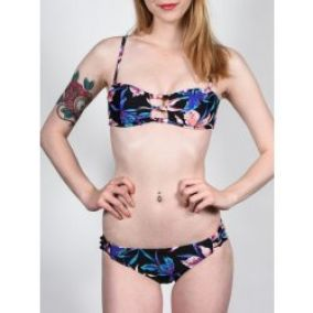 Roxy Knotted Bandeau/Knotted 70's KVJ6/True Black