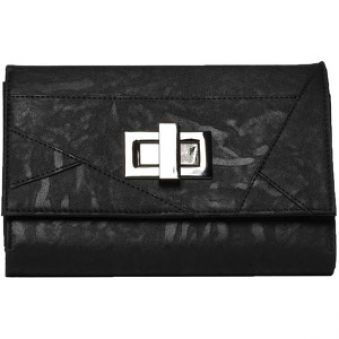 Volcom Peňaženka Dita Cheque Book Cover Black