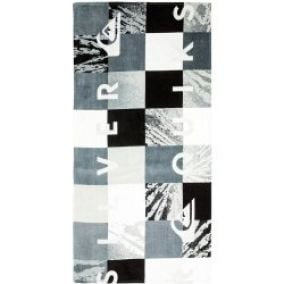 osuška Quiksilver Check Towel - KRP0/Dark Shadow