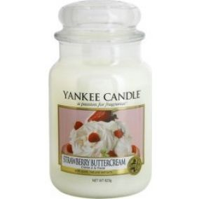 Yankee Candle Strawberry Buttercream vonná sviečka