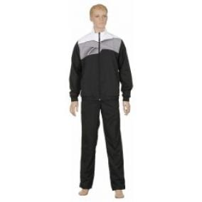 Reebok Ribstop Suit OH Black Flat Gray White Black