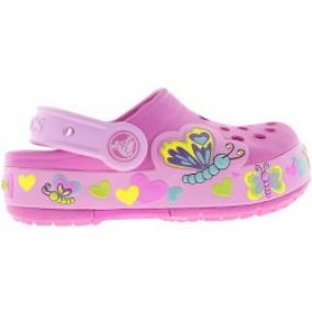 CROCS Crocband Lights Butterfly PS