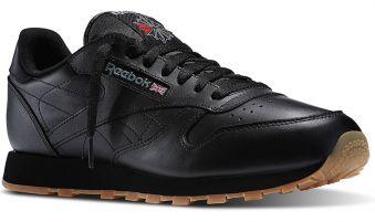 Reebok Classic Leather Black M AKCIA