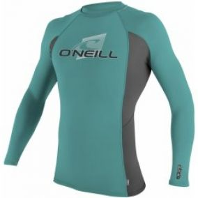 O'Neill Skins L/s Crew mineral/graphite/mineral 16
