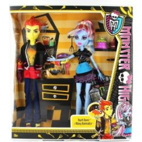 Mattel Monster High Třídní 2pack Heath Burns a