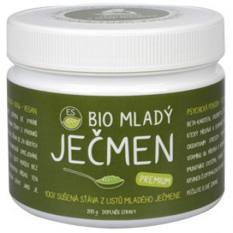 Empower Supplements ES BIO Mladý jačmeň Premium