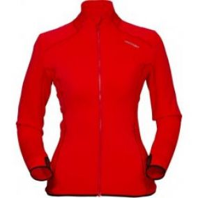 High Point Skywool Lady Sweater red
