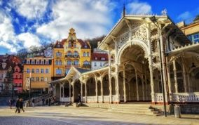Karlové Vary v 3* hoteli Boston v centre s