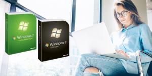 OEM Microsoft Windows 7 Home alebo Ultimate