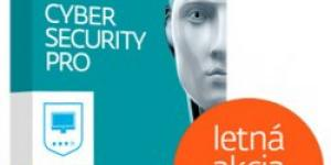 ESET Cyber Security Pro 1 lic. 24 mes.