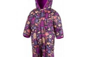COLUMBIA Snuggly Bunny Bunting Deep Blush Critters