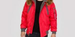 Alpha Industries Mountain Jacket Red