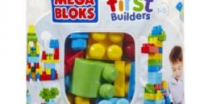 Mega Bloks First Builders Big Building bag Boys