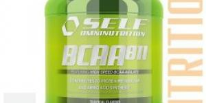 Self OmniNutrition BCAA 8:1:1, 500 g