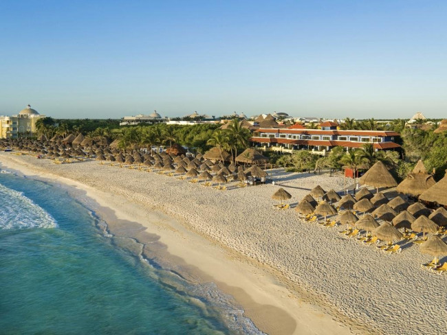 Letecky Mexiko: Iberostar Paraiso Beach 5* s all inclusive
