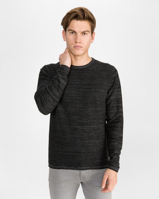 Jack & Jones Planet Sveter Šedá