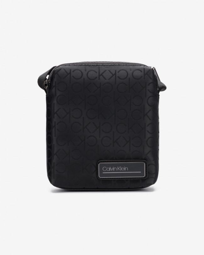 Calvin Klein Industrial Mono Mini Cross body bag Čierna