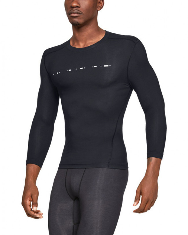 Under Armour Athlete Recovery Compression™ Tričko Čierna