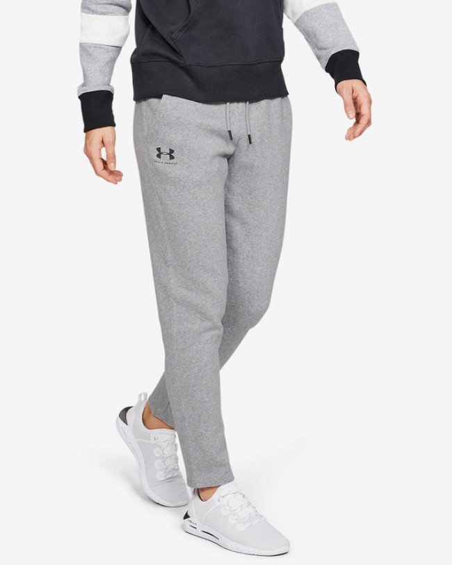 Under Armour Rival Fleece Tepláky Šedá