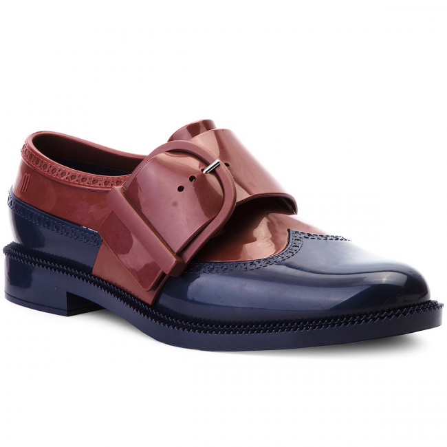 Poltopánky MELISSA - Classic Brogue Special 32394 Blue/Dark Red 53334