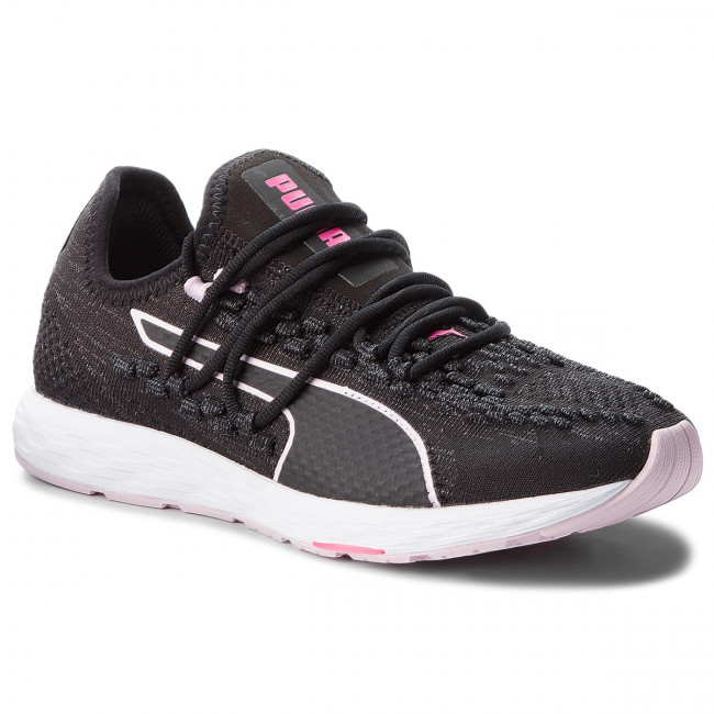 Topánky PUMA - Speed  Recer Wn 191063 01  Black/Winsome Orchid/Kpink