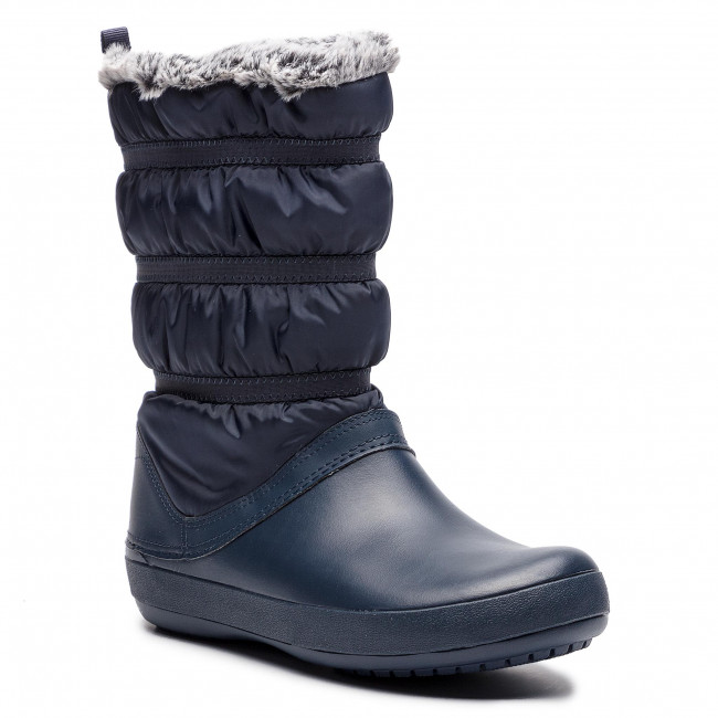Snehule CROCS - Crocband Winter Boot W 205314 Navy