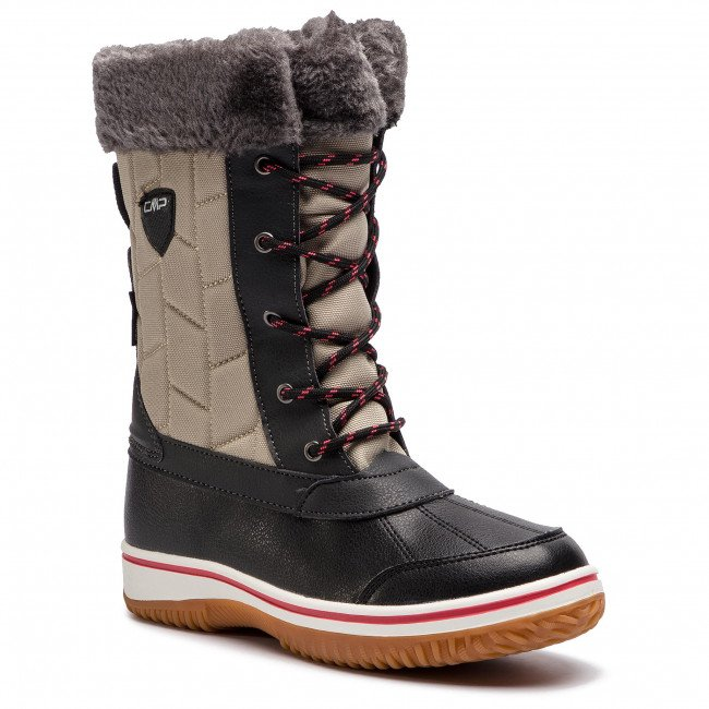 Snehule CMP - Junior Siide Afterski Boot Wp 38Q4524 Sand A516