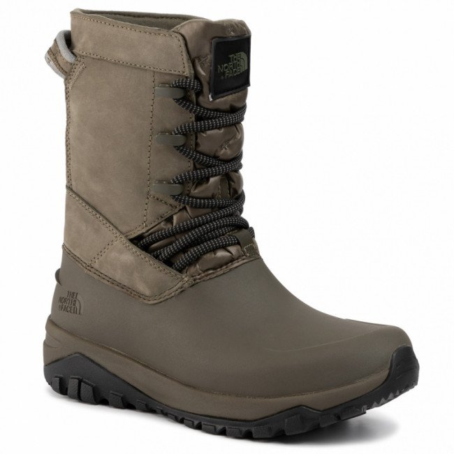 Snehule THE NORTH FACE - Yukiona Mid Boot T93K3BBQW New Taupe Green/Tnf Black