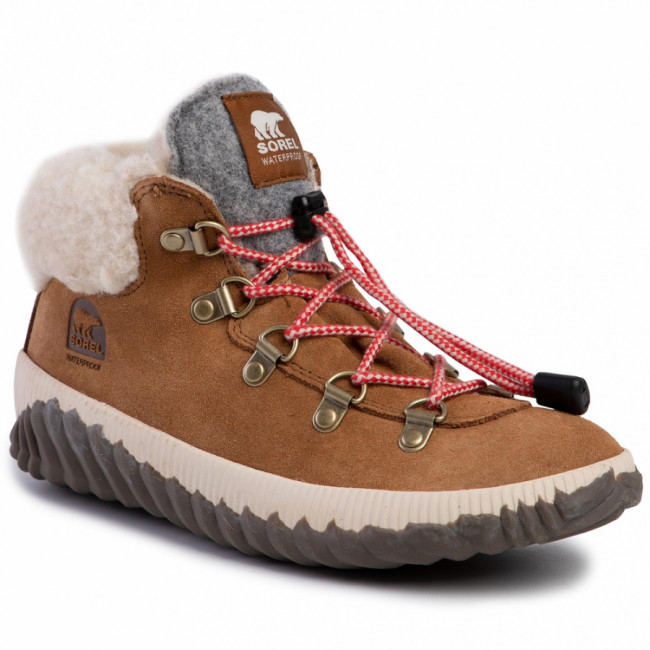 Outdoorová obuv SOREL - Youth Out N About Conquest NY1952 Camel Brown/Quarry 224