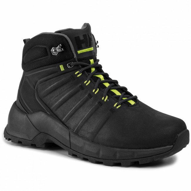 Trekingová obuv HELLY HANSEN - Pinecliff Boot 115-22.990 Black/Charcoal/Azid Lime