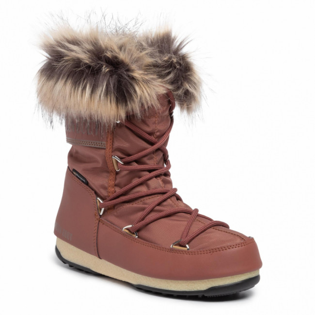 Snehule MOON BOOT - Monaco Low Wp 2 240088004 Rust