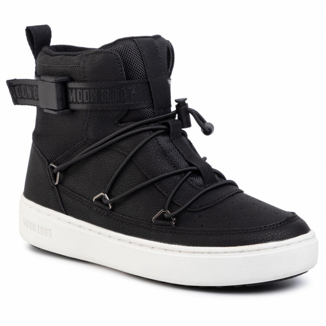 Outdoorová obuv MOON BOOT - Pulse Jr Boy New York 340611001 D Black